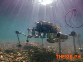 Crab-Robot SILVER2- Underwater Soft Robot That Can Walk on Seabed - THESIS.PH