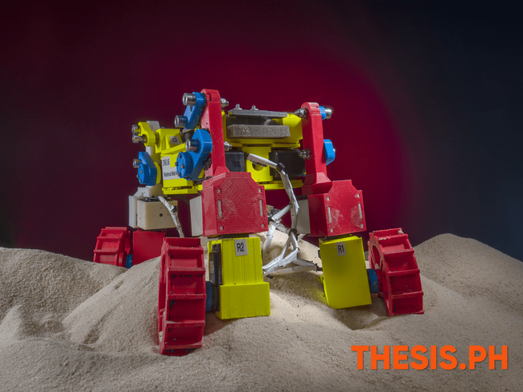 Mini Exploration Rover Pedals Smoothly on Granular Hills - THESIS.PH