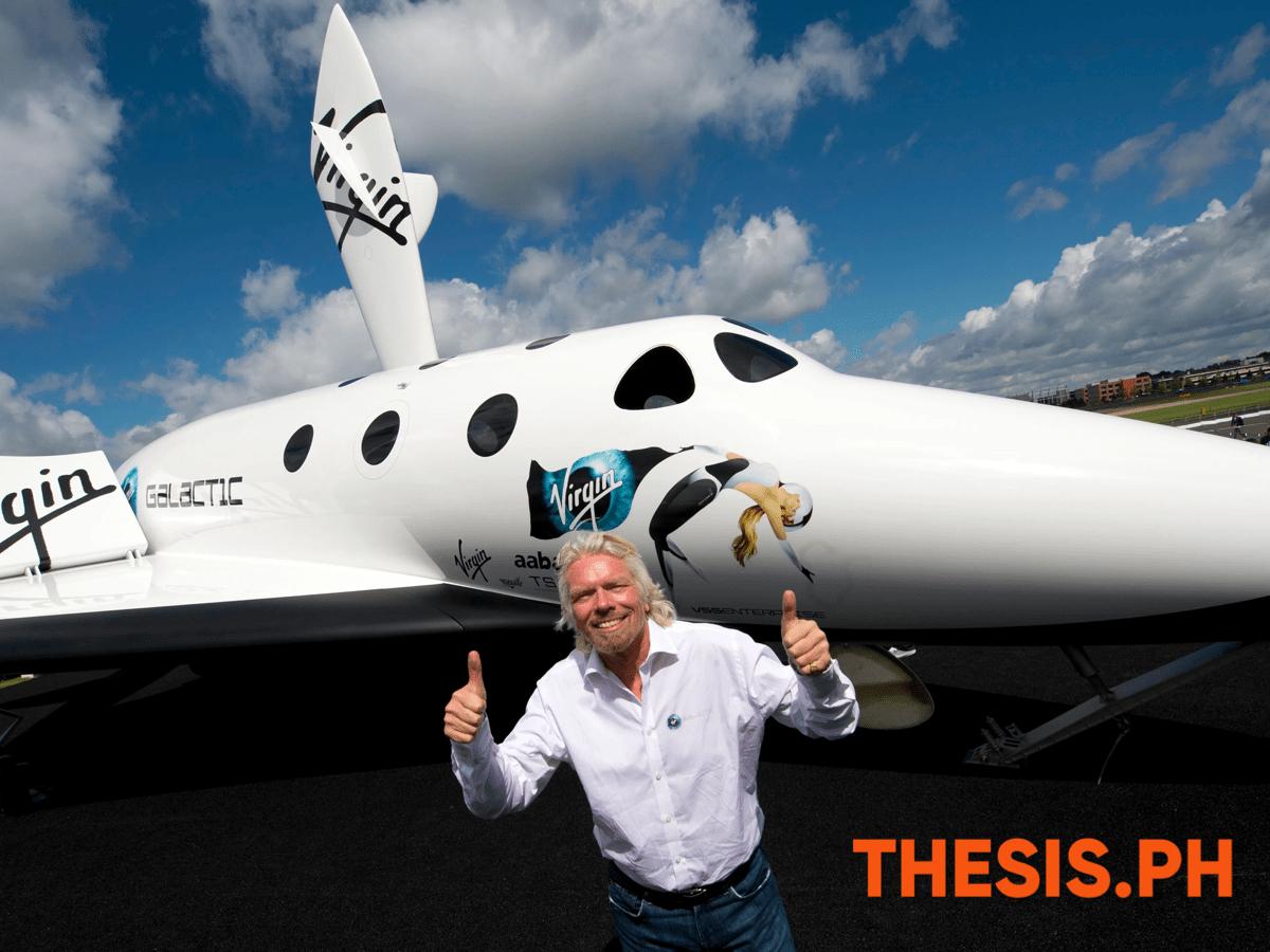Richard Branson- Virgin Galactic Company - THESIS.PH