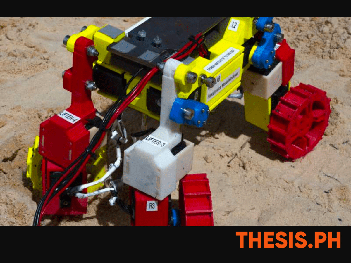 Testing the Mini Rover's Mechanism and Specifications - THESIS.PH