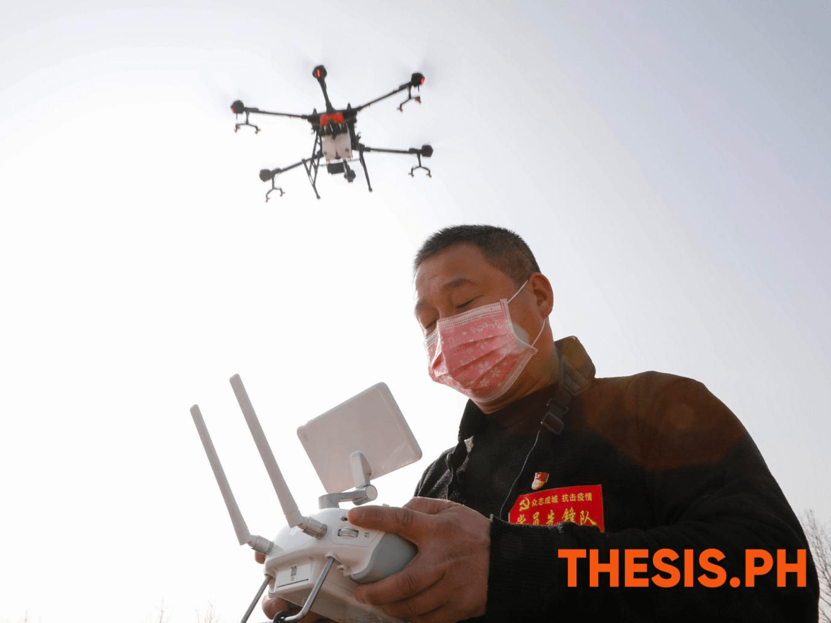 drones with loudspeakers to publicly shame violators of COVID19 quarantine - thesis.ph